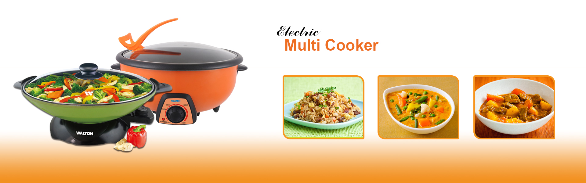 Multi Cooker ( Electric )
